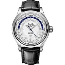 Ball Trainmaster Worldtimer Automatik Herrenuhr GM2020D-LL1CJ-SL