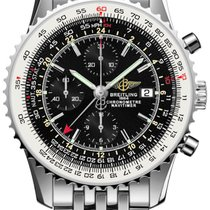 百年靈 (Breitling) Navitimer World Stainless Steel Bracelet