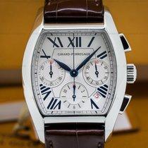 Girard Perregaux 27650-0-11-1131 Richville Steel Chronograph...