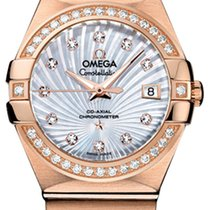 Omega Constellation Co-Axial Automatic 27mm 123.55.27.20.55.001