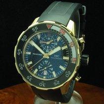 IWC Aquatimer 18kt 750 Gold Chronograph Inkl Box & Papiere...