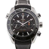 Omega Seamaster Planet Ocean 46 Chronograph Black Dial