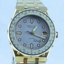 Breitling Tabarly Herren Uhr Rar 36mm Vintage Rarität Stahl...