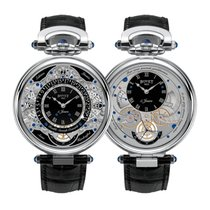 Bovet Amadeo Perpetual Calendar Double Face LTD. 100 White Gold