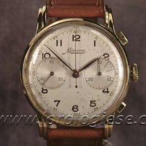 Minerva Vintage 1940`s Larger Size 37mm Chronograph Cal. 13.20ch