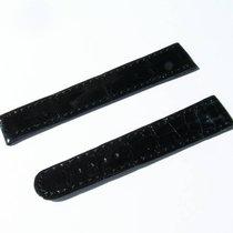 Chopard Croco Band Strap Schwarz Black 16 Mm 80/88 New C16-119