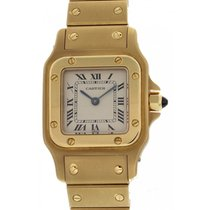 Cartier Santos Solid 18K Yellow Gold 1228
