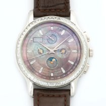 Zenith Platinum Baguette Diamond Perpetual Chronograph