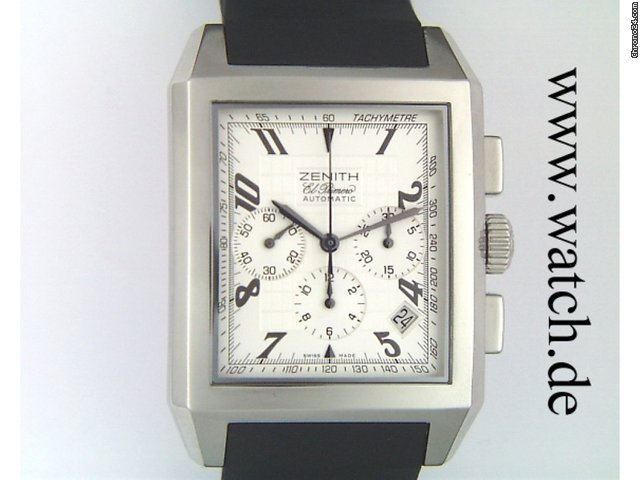 Zenith Grande Port Royal El Primero Chronograph Chronometer 51x36mm