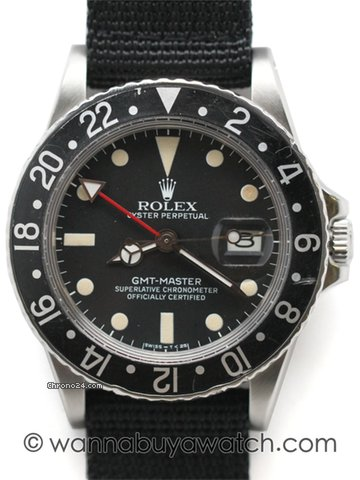 Rolex Gmt-Master ref. 16750 / stk#40581
