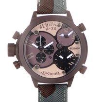 Welder Triple Time Zone Chronograph Men's Watch K29-8005