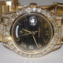 勞力士 (Rolex) Day-Date II President 18K Solid Gold Diamnods