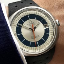 Omega Geneve Dynamic Automatic Automatik tone blue dial date
