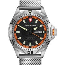 Swiss Military Tank Day/date Swiss Watch Mesh Bracelet...