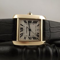 Cartier Tank Francaise automatic ref. 1840 28x32mm gold