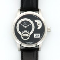 Glashütte Original Platinum PanomaticLunar Moonphase Watch