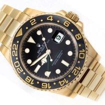 Rolex Gmt Master II Gold 18k 116718LN
