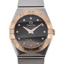 Omega Constellation 24 Quartz Gemstone