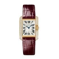 Cartier Tank Anglaise Quartz Ladies Watch Ref WT100013