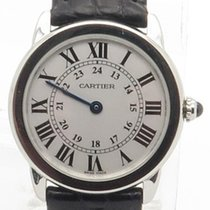Cartier Ronde Solo Steel Ladies 29mm White Dial Ref 2933