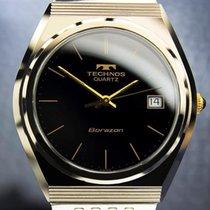 Technos Borazon Swiss Made Golden Tungsten Quartz Rare 1970s...