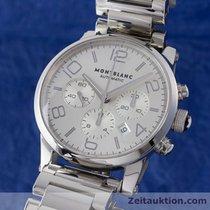 Montblanc Timewalker Chronograph Automatik Stahl Ref 7069