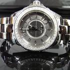 Chanel J12 38mm Titanium Custom Diamond Bezel - H2979