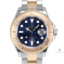 Rolex Yacht-Master Steel and Gold Blue Dial 60min Bezel Oyster...