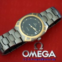Omega Seamaster Herrenuhr Titan/Gold 18 Karat