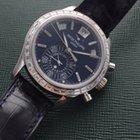 Patek Philippe Platinum Chronograph Baguette Diamond Ref. 5961P