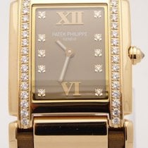 Patek Philippe 24 Twenty-4 4920R-001 18kt Rose Gold Diamond...