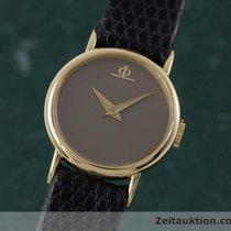 Baume & Mercier Lady 18k (0,750) Gold Handaufzug Damenuhr