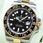 Rolex GMT Master II 116713LN Keramik Stahl Gold Papiere Box 2010