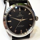 Tudor Gilt Black Oyster Prince Automatic Mens Watch