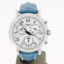 Chopard Mille Miglia Chrono steel (BOX1999) With BUCKLE white...