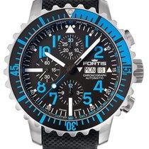Fortis Aquatis 42 Marinemaster Blue Chronograph