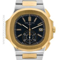 Patek Phlippe stainless steel and 18k rose gold Nautilus