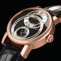 Benzinger Regulator Black Rose Gold