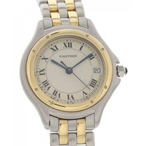 Cartier Ladies Cartier Panthere Cougar 18K Yellow Gold &...