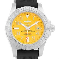 Breitling Aeromarine Avenger Ii Seawolf Yellow Dial Mens Watch...
