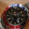Rolex 16750 Pepsi Gmt Master with Patina Matt dial
