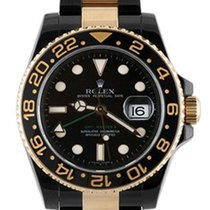 Rolex Used 116713_pvd Oyster Perpetual GMT II Two-Tone - Black...