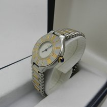 Cartier MUST 21 S/S AND GOLD ROULEAUX BAND