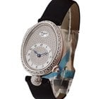 Breguet Reine de Naples with Diamond Bezel and Pave Diamond Dial