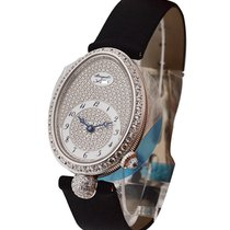Breguet Reine de Naples with Diamond Bezel and Pave Diamond Dial