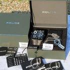 Police Tripod Multifunzione Special Box Con Catena Ancora Nuovo