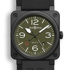 Bell & Ross Aviation BR03-92-MILITARY TYPE Automatic Watch
