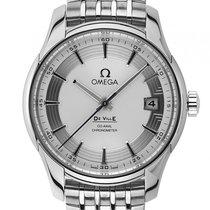 Omega De Ville Hour Vision Co-Axial Annual Stahl Automatik...