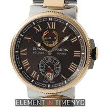 Ulysse Nardin Marine Collection Chronometer Steel & Rose...