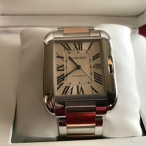 Cartier Tank Anglaise XL Rose/Steel